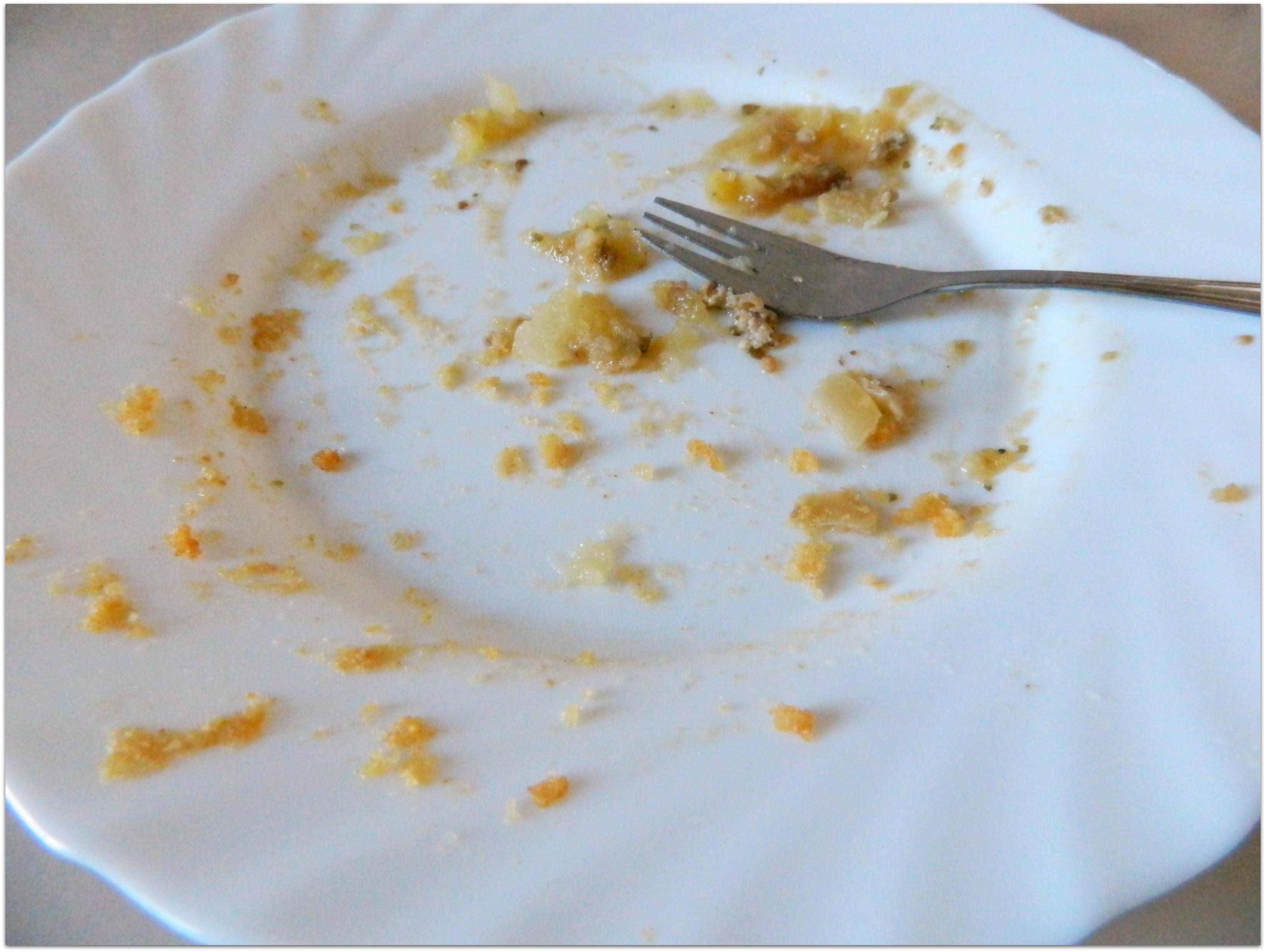 Dekorowałam obiad fasolą…