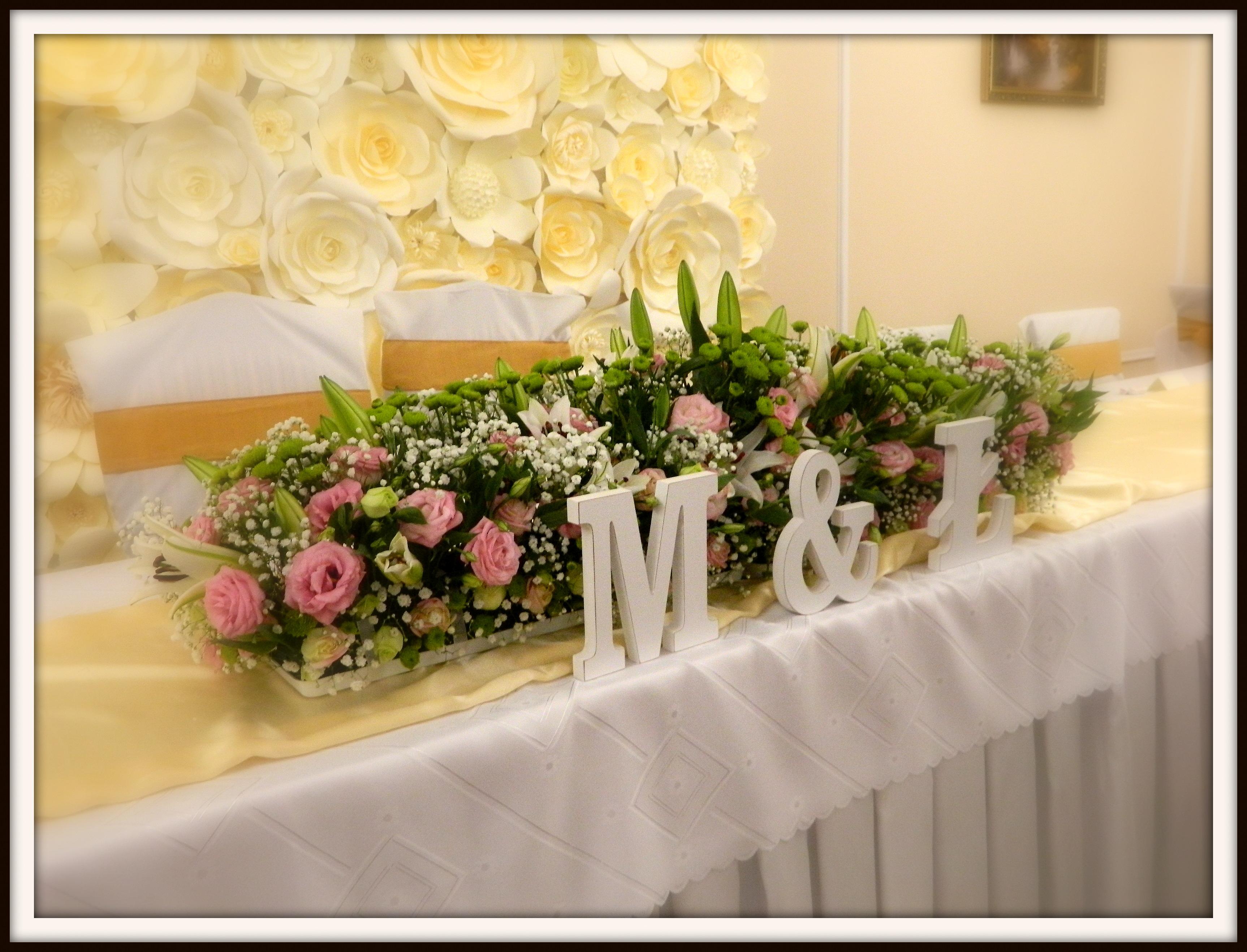 Ślubna dekoracja stołu…